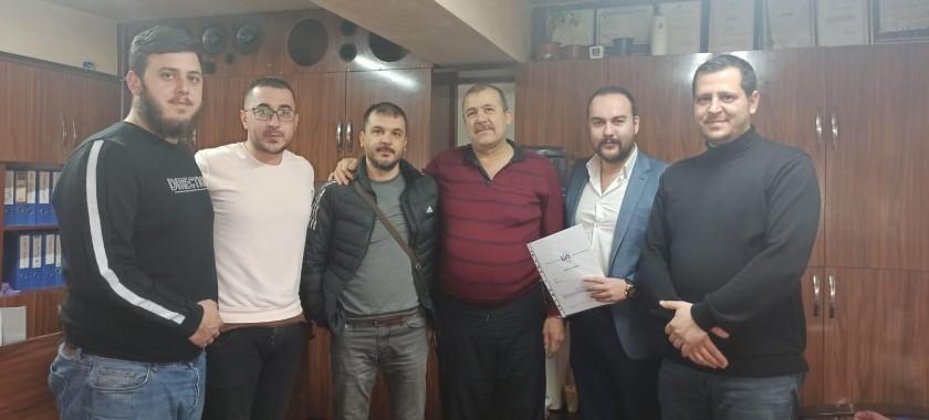 Konya Serpa Pano Firması İle Test ve Belgelendirme Sözleşmesi Yapıldı
