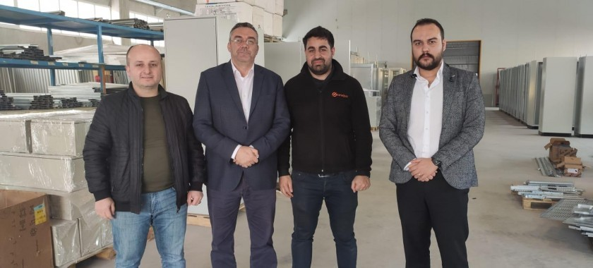 Balıkesir Sanelpan Elektrik Pano Firması ile Test ve Belgelendirme Sözleşmesi Yapıldı.
